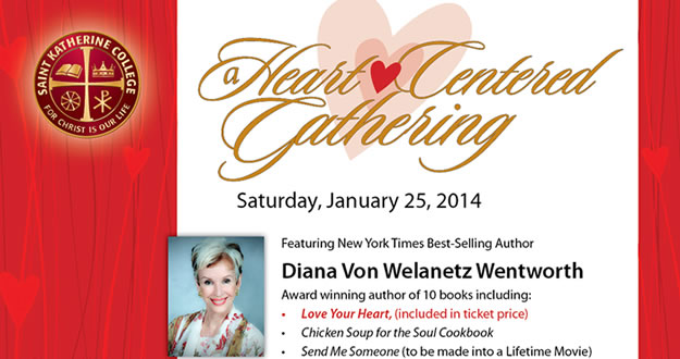 Diana is presenting a Heart-Centered Gathering. Please join us (click on this image to download a flyer)