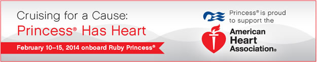 Feb 10-14 Princess Cruise for AHA